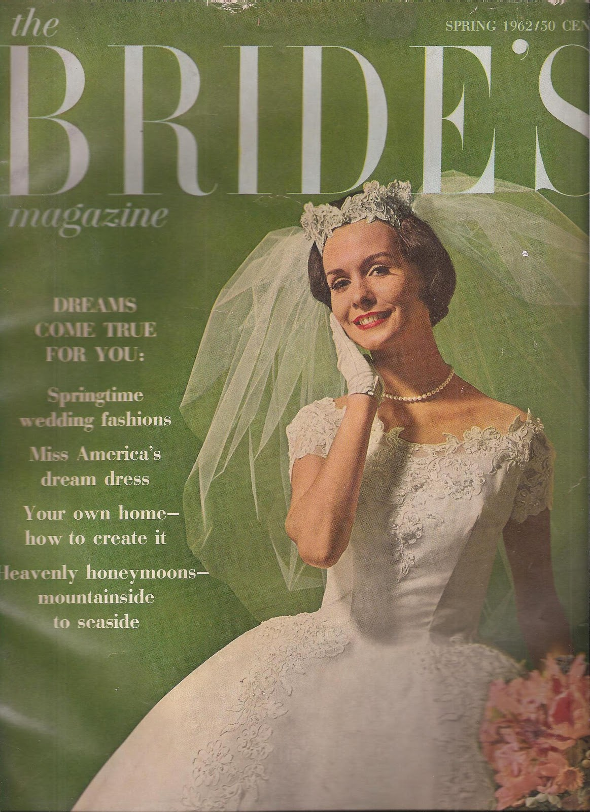 A Few Months Ago I Bought Vintage Bridal Magazines They Are So Interesting The Dresses Colors Articles Have Brides Magazine From