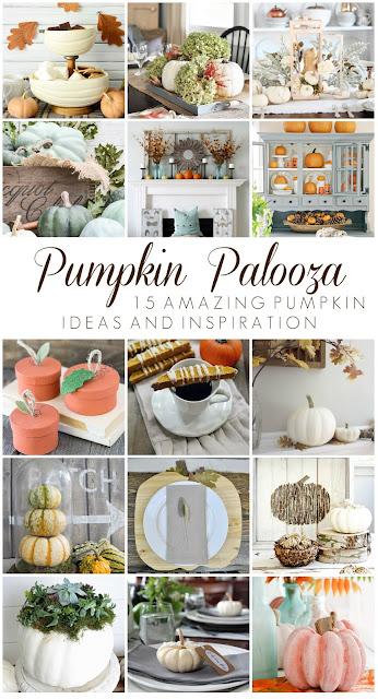 Pumpkin Palooza - 15 bloggers amazing pumpkin ideas and inspiration