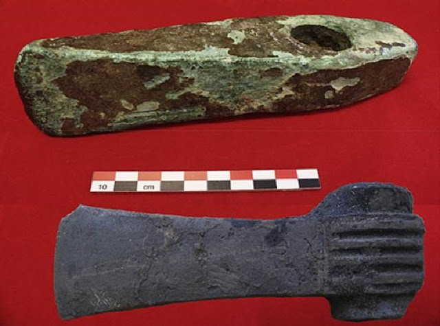 3,600-year-old Swedish axes made from Cypriot copper