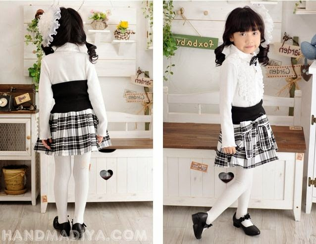 Кофточки и юбочки для девочек