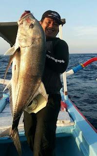 Spot mancing surf fishing dan popping di Bali