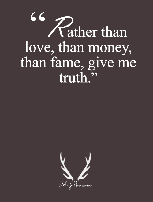Give Me Truth