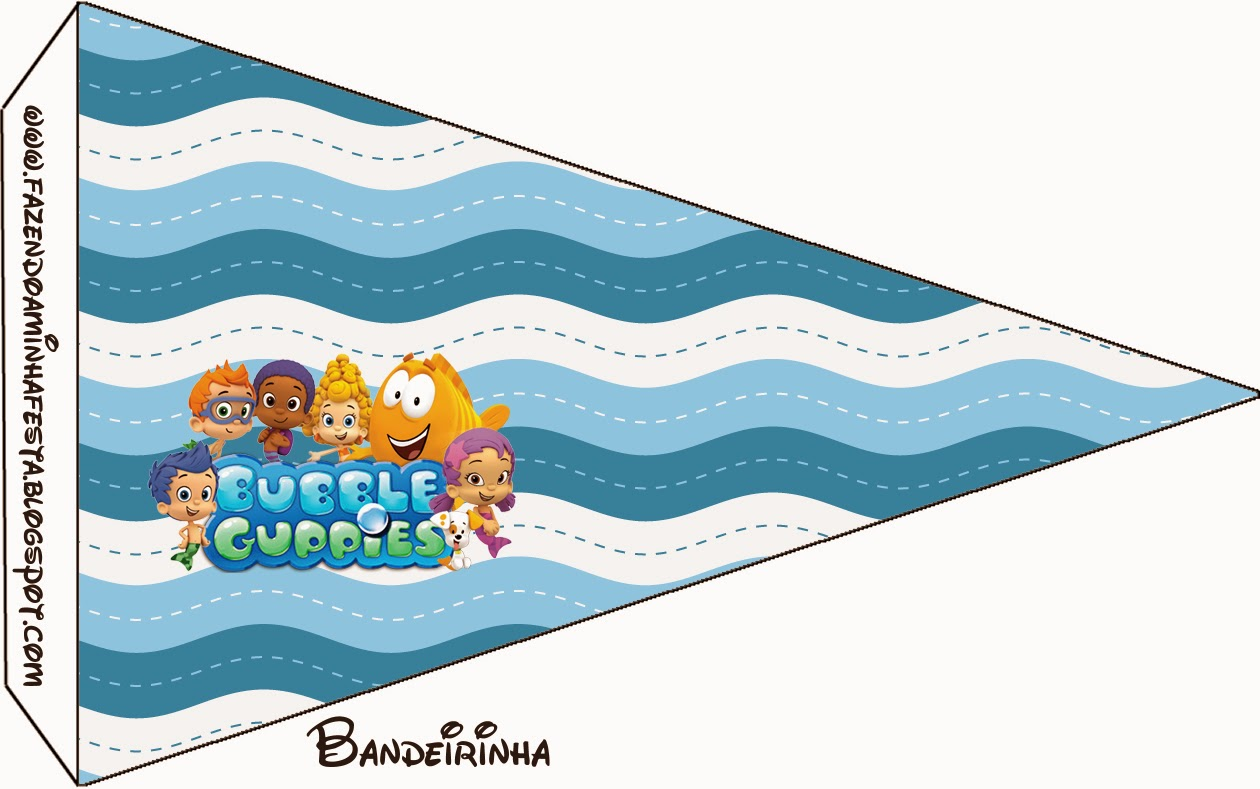 Bubble guppies free party printables oh my fiesta in english free printable food flags maxwellsz