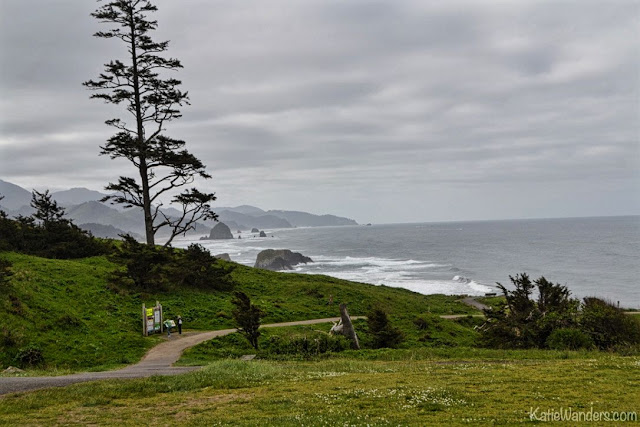 Walkway at Ecola State Park