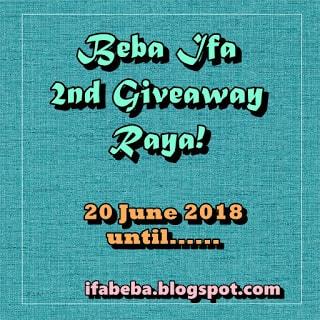 Beba Ifa 2nd Giveaway Raya