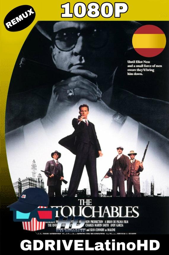 Los Intocables de Eliot Ness (1987)[CAS] BDREMUX 1080P MKV