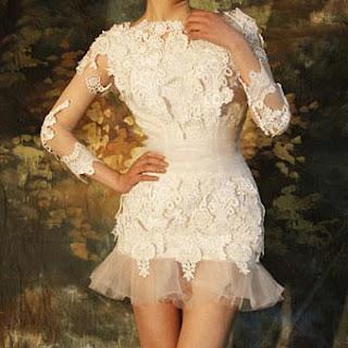 vestido de noiva super curto - dicas e modelos