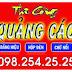 Làm Bảng Hiệu Quận Gò Vấp, quận 12, Bình Thạnh, Tân Bình