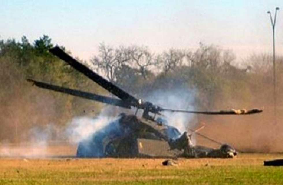 LATEST BREAKING NEWS: Another military helicopter crashes near FUT in Yola