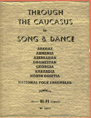 Through the Caucasus in Song & Dance 1959