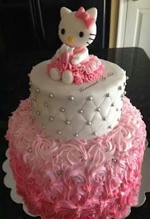 Gambar Kue Hello Kitty yang Lucu 2