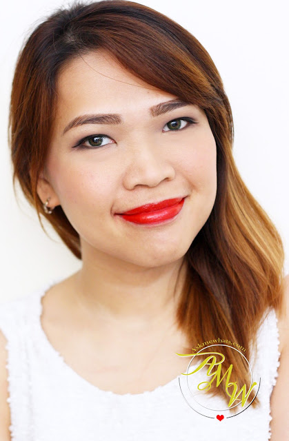 A photo of Inglot Freedom System Lipstick shade 82 Nikki Tiu AskMeWhats