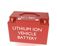 Lithium Ion Vehicle Battery (Credit: Shutterstock) Click to Enlarge.