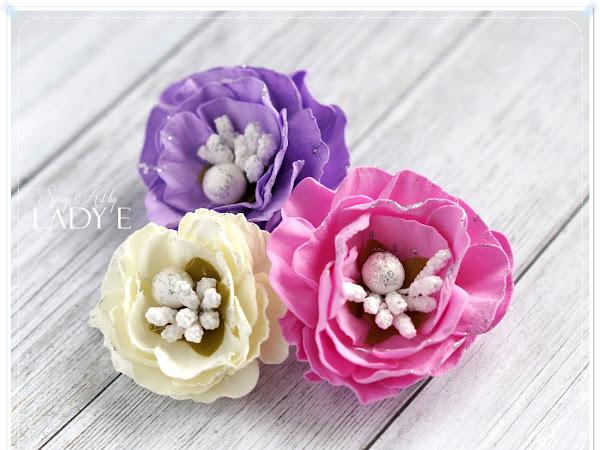 Foamiran Flowers Tutorial / Kurs na Kwiatki z Pianki