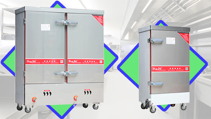 Tìm hiểu về tủ nấu cơm công nghiệp thương hiệu Bep36