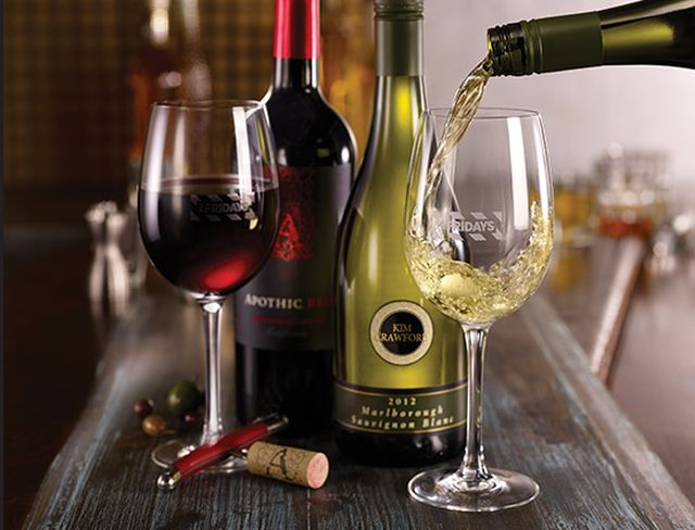 Half Price Wine Bottles At Tgi Fridays Through Valentine S