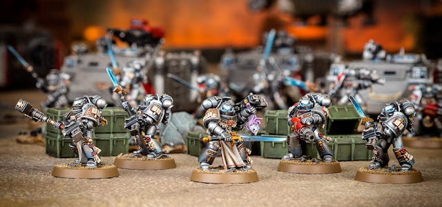 Kill Teams Caballeros Grises