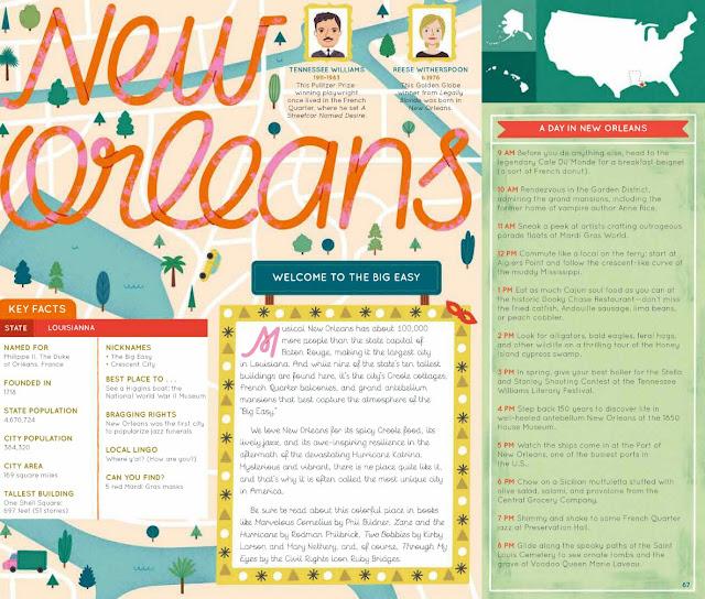 50 Cities of the U.S.A. nola layout closeup 2