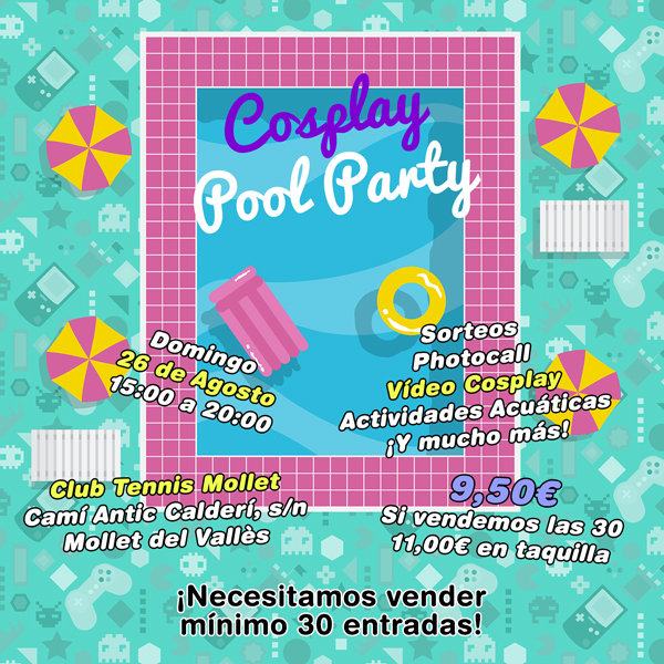Cartel Cosplay Pool Party