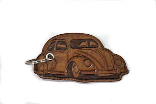 volkswagen beetle keychain, vw bug keychain, vw, volkswagen, leather keychain, vosvos, vocho, kefer, the bug, keychains