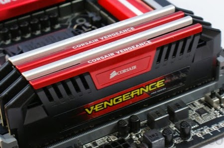 Corsair Vengeance Red