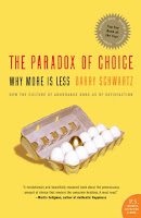 The Paradox of Choice book cover