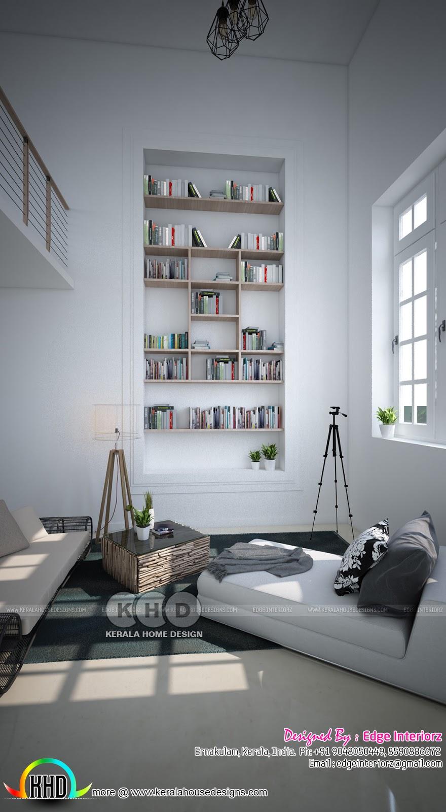 Home interior design by edge interiorz kerala home for Edge house design