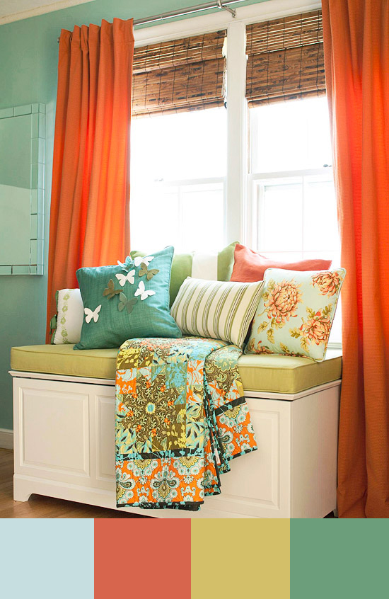 Decorating Schemes For Living Rooms: Home Decor Color Combinations