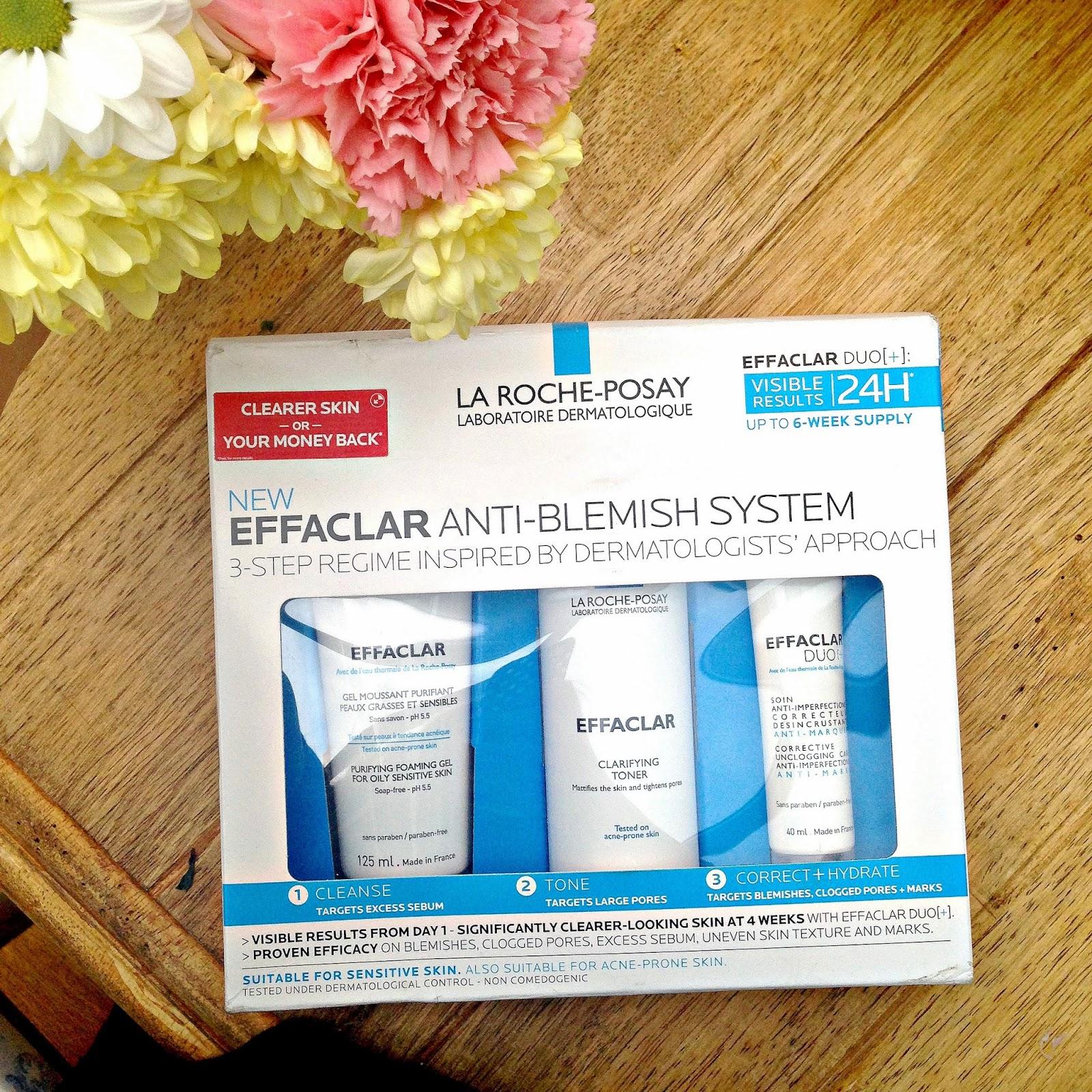 la roche posay new effalclar anti blemish system