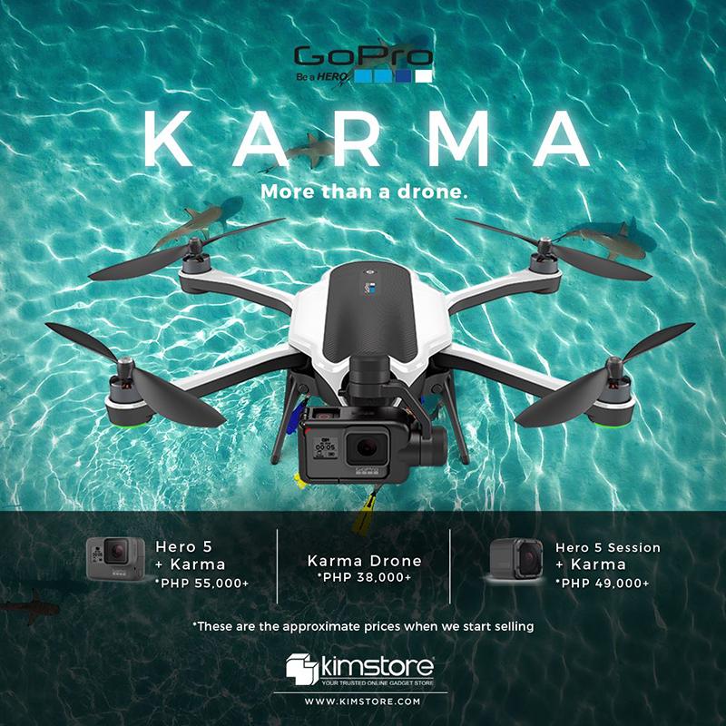 GoPro Karma pre-order at Kimstore