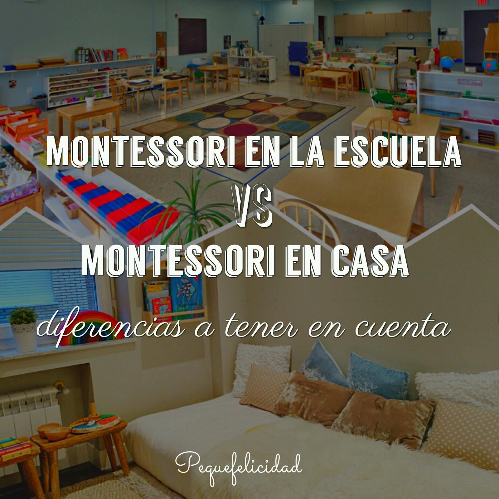 Pequefelicidad montessori en la escuela vs montessori en for Espejo montessori