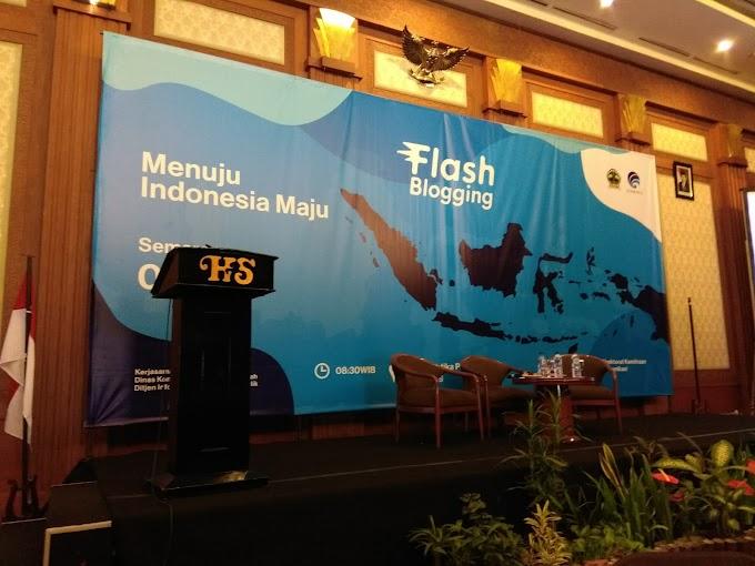 Blogger Kreatif, Menuju Indonesia Maju