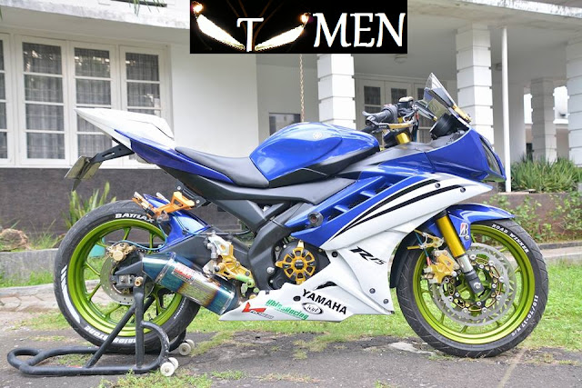 Modifikasi Yamaha YZF R15 Racing Blue | Modifikasi Yamaha YZF R15 Racing Blue |Modifikasi Yamaha YZF R15 Racing Blue