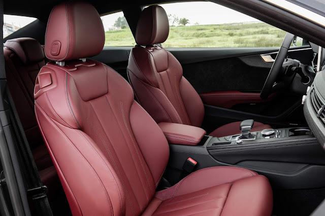2017 Audi A5 3.0 TDI - interior