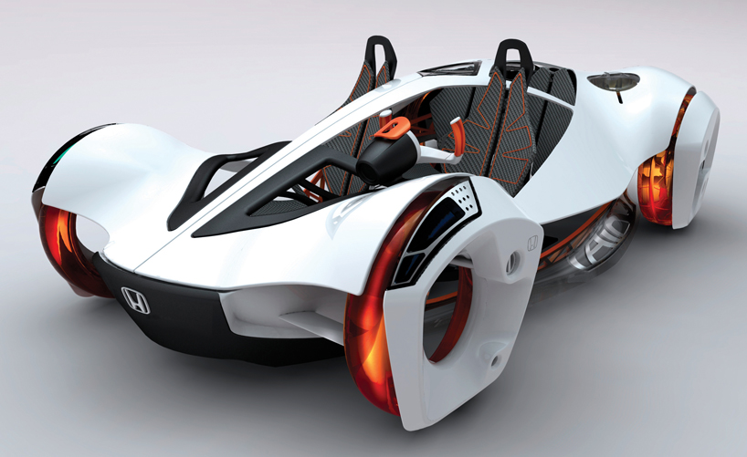 A Magnetic Concept Car Designed By Matúš Procháczka Driven An Electric Engine That Generates Field Which Propells The Vehicle Forward