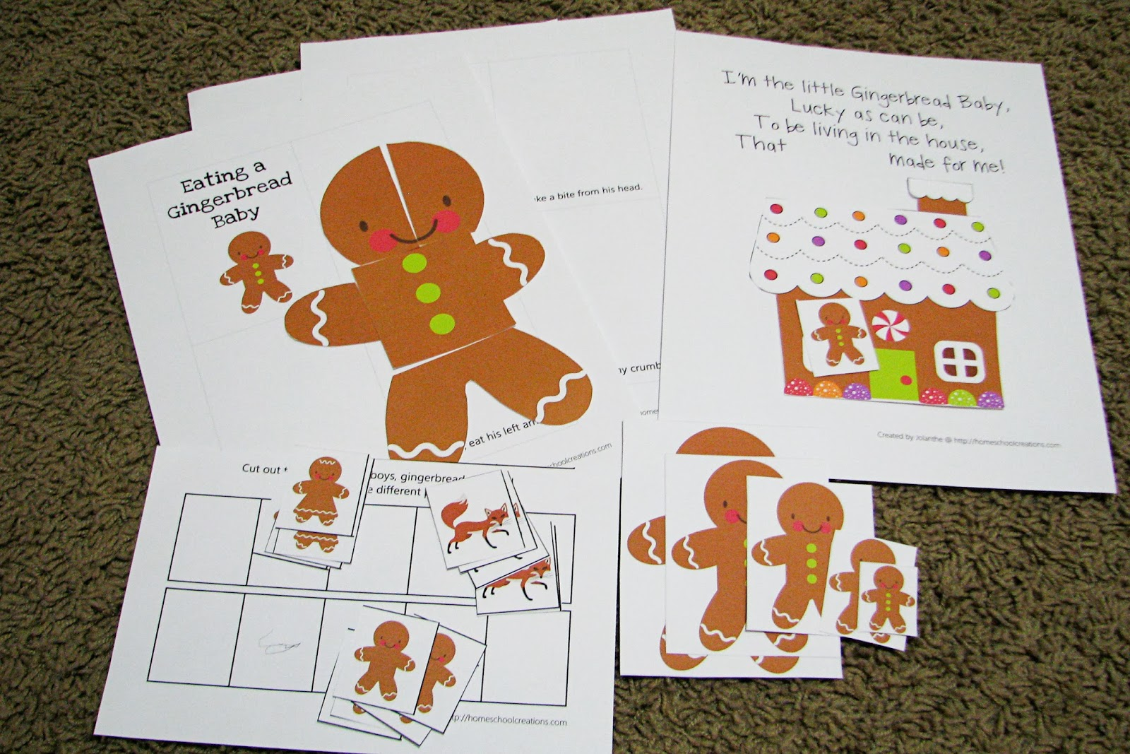 Mommy S Little Helper Gingerbread Activities For