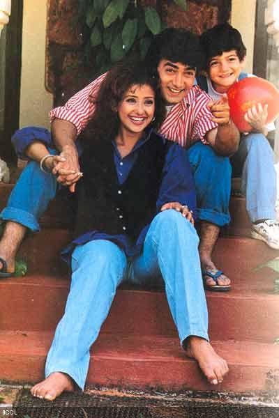 film india terbaik aamir khan & manisha koirala akele hum akele tum