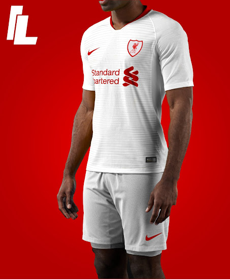 a2d0e312f55 Nike Liverpool 18-19 Home Kit Concept