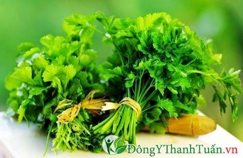 Thực phẩm có lợi cho dạ dày - Rau mùi