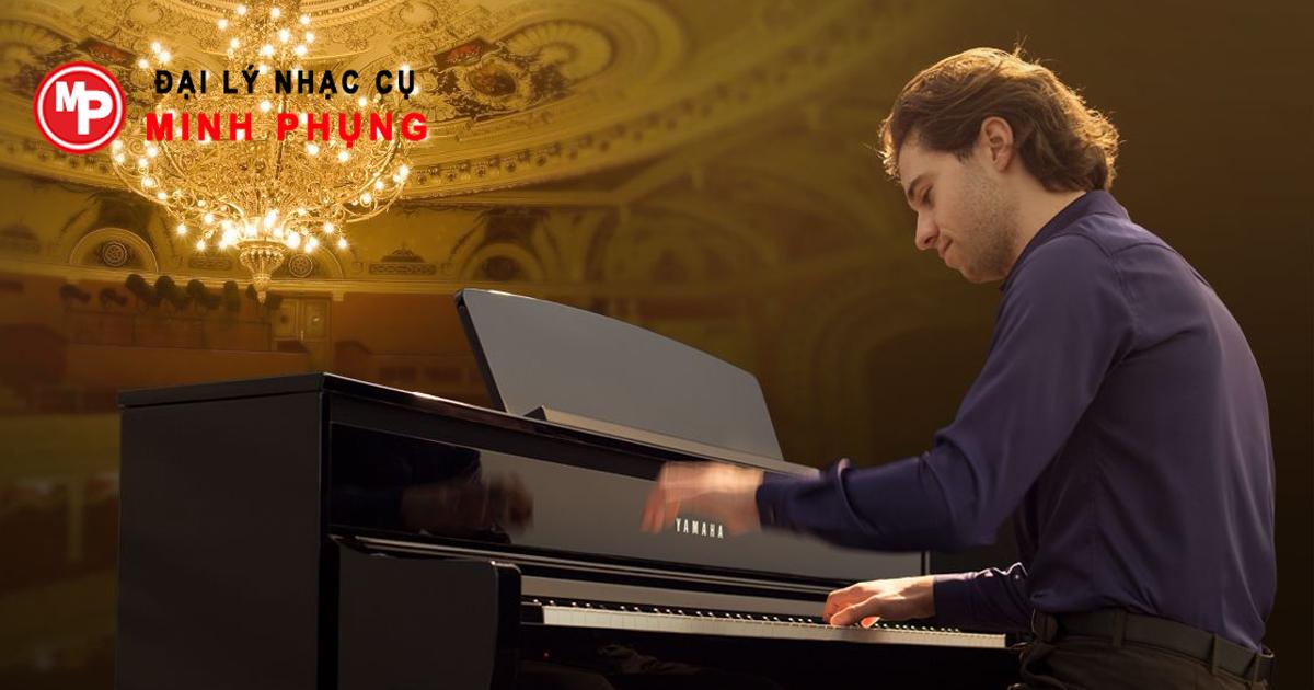 Yamaha Clavinova CSP-150 WH Đàn Piano Điện