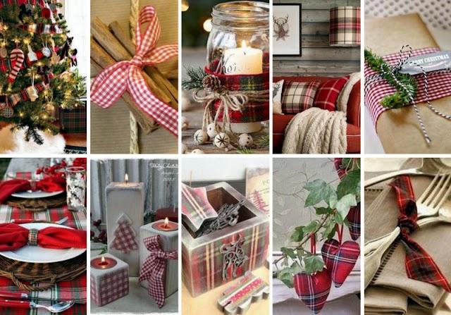 60+ Χριστουγεννιάτικες Διακοσμήσεις με Καρό Μοτίβα