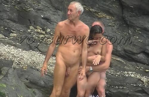 Nude Beach Conquistador 04 (Voyeur camera naked women filmed on beach - amateur nude beach video)