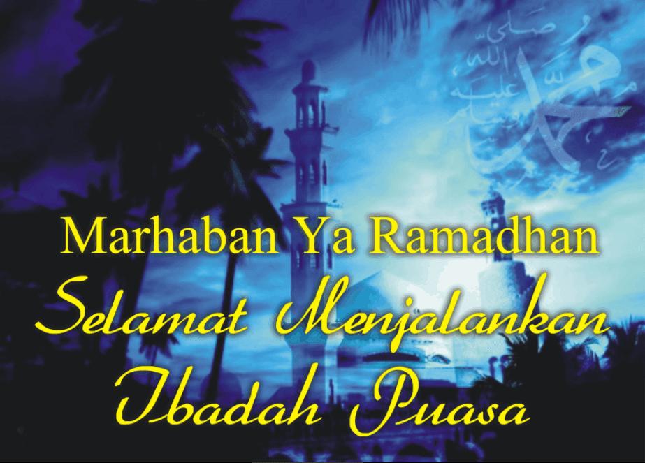 Gambar ucapan marhaban ya ramadhan