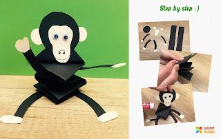 Passo a Passo: Como fazer flores e animais com cartolina (paper craft)