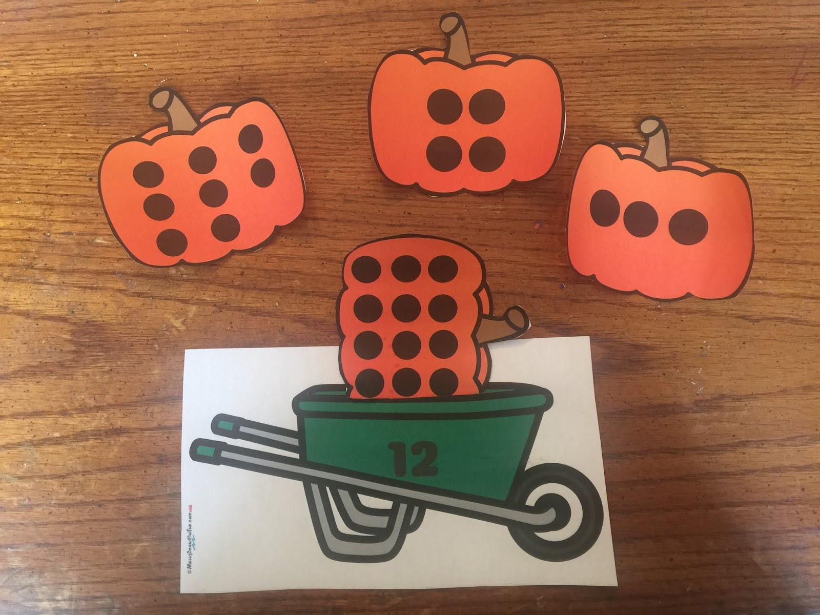 Messy Beautiful Fun Free Worksheet Wednesday Pumpkin