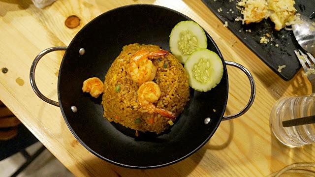 Nasi goreng seafood ala Saung Kedah