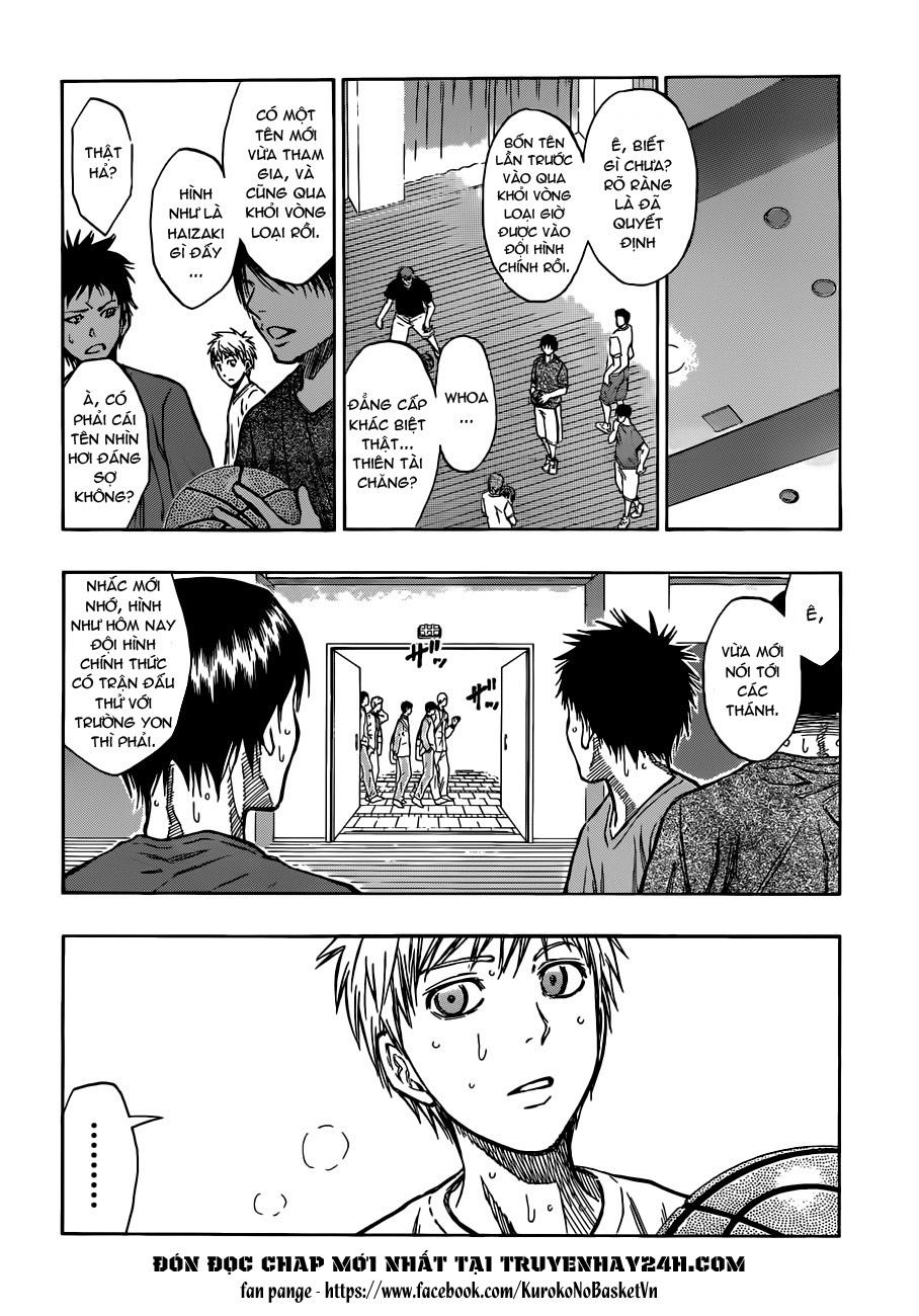 Kuroko No Basket chap 205 trang 4