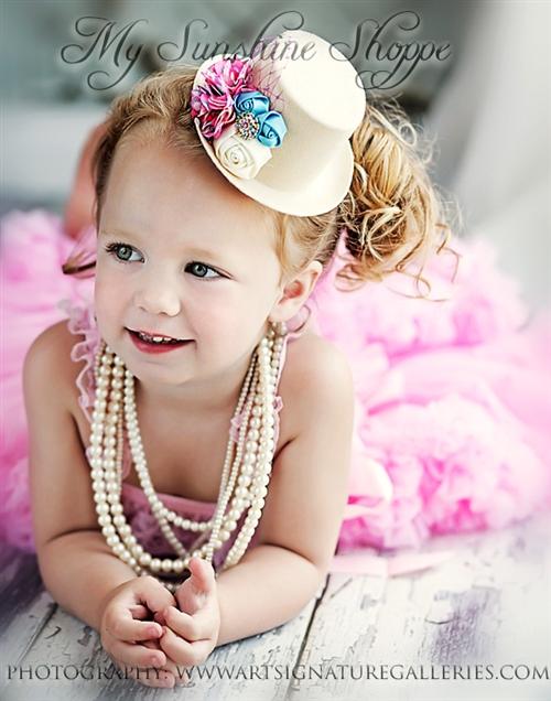 Diy Little Girl Headbands Sunshine Shoppe Craft O Maniac