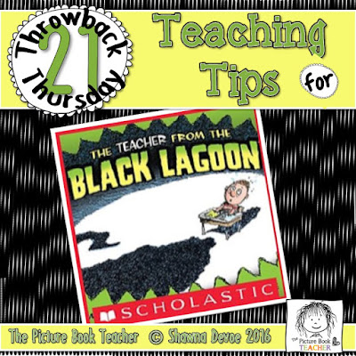 The Teacher from the Black Lagoon Teaching Tip - TBT