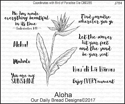 Our Daily Bread Designs Stamp Set: Aloha